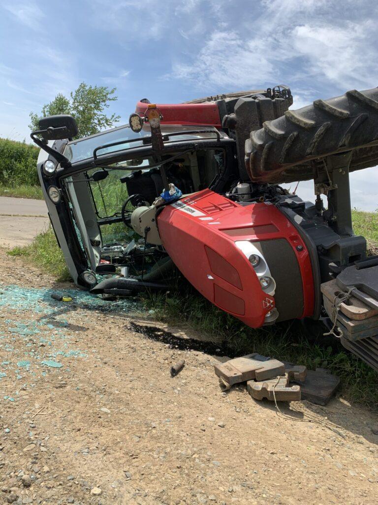 トラクター事故